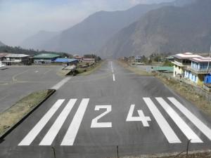 Shortest runway in the world