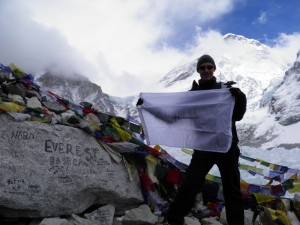 Knowmad at Everest Base Camp