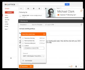 SideKick Gmail Task Reminder Integration with CRM