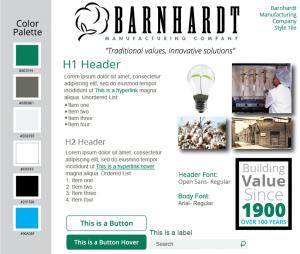 Barnhardt Manufacturing Style Tile