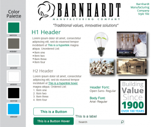 Barnhardt Manufacturing Style Tile