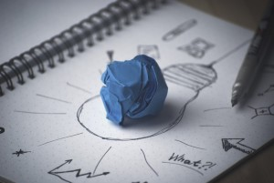 drawing of lightbulb