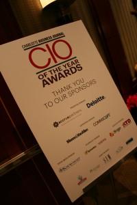 CIO of the Year Awards display