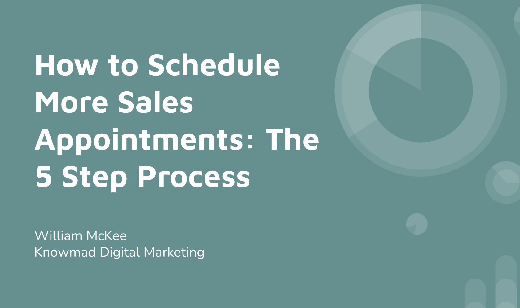 How to Schedule More Sales Appointments