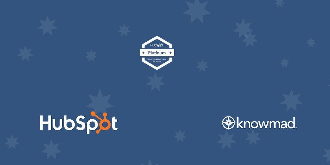 Knowmad Digital Marketing Earns HubSpot Platinum Status